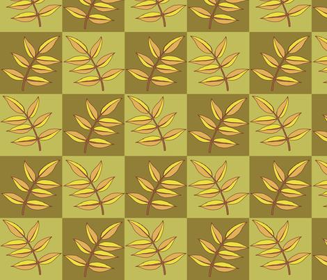 autumn leaves fabric by weejock on Spoonflower - custom fabric