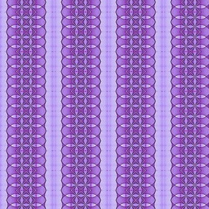 Purple Sine Dot Stripe