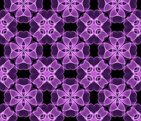 Sine Dot Flower fabric by koalalady on Spoonflower - custom fabric