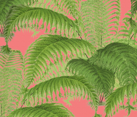 Ferndale ~ Sophia fabric by peacoquettedesigns on Spoonflower - custom fabric