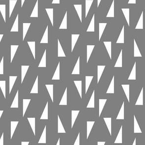 Triangle Confetti - Gray