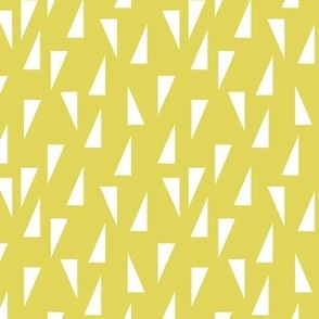 Triangle Confetti - Yellow