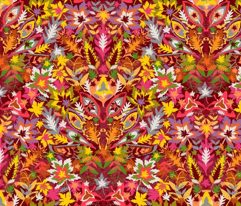 Autumn Splendour fabric by paula's_designs on Spoonflower - custom fabric