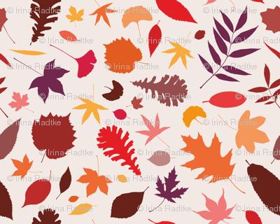Berlin autumn leaves