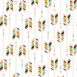 Small Arrows: White