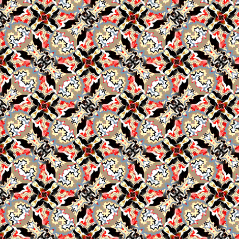 autumn leaves abstract 1 fabric by susiprint on Spoonflower - custom fabric