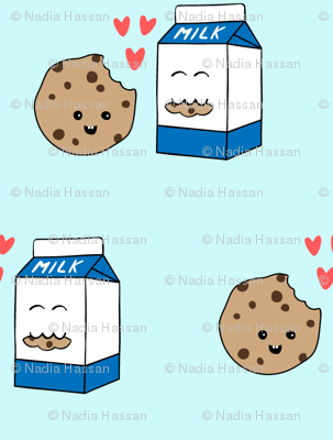 Milk Loves Cookie