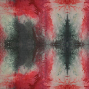 Red & Black Tie Dyed