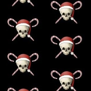 skull and candy canes