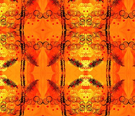 Sun burst fabric by vibrantkicks on Spoonflower - custom fabric
