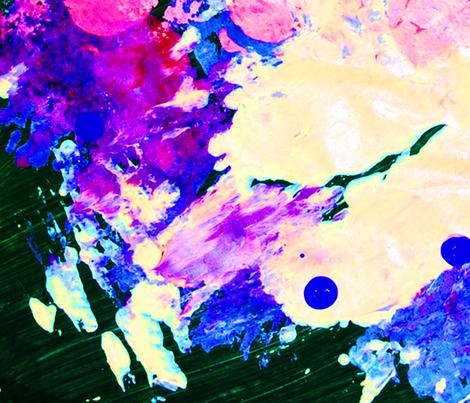 Purple smudge fabric by vibrantkicks on Spoonflower - custom fabric