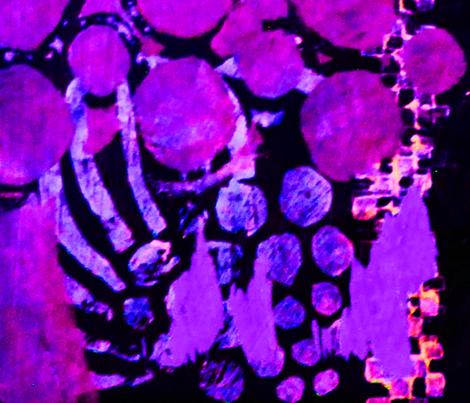 Galaxy fabric by vibrantkicks on Spoonflower - custom fabric