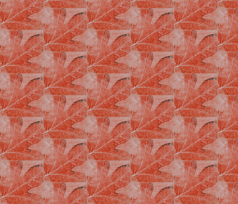 autumn-red fabric by renateandtheanthouse on Spoonflower - custom fabric