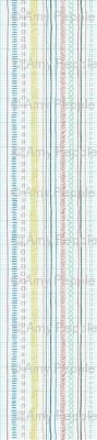 Geeky Stripes* (Colored Pencil) || doodle doodles stripes geometric sketch graph paper