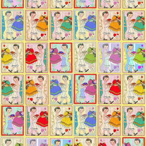 1930 Paper Dolls