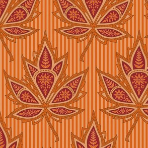 Autumn paisley maple
