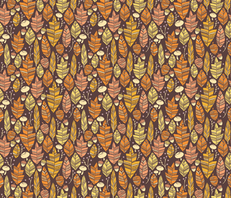 Forest Treasures fabric by k80horn on Spoonflower - custom fabric