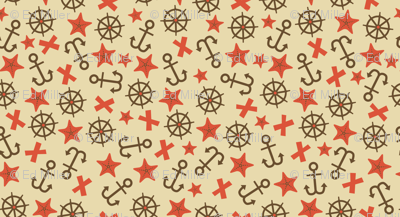 Anchors (beige)