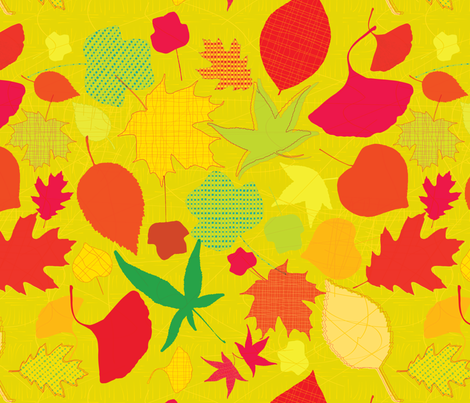 Fall spirit fabric by supersophie on Spoonflower - custom fabric