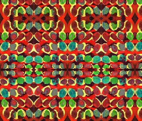 batik autumn fabric by cherryjam on Spoonflower - custom fabric