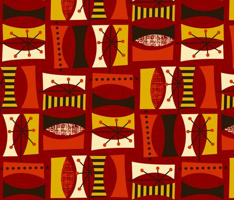Autumn Daze fabric by celiaforrester on Spoonflower - custom fabric