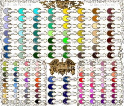 Peacoquette Designs ~ 2014 Color Palette
