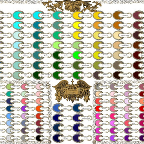 Peacoquette Designs ~ 2014 Color Palette