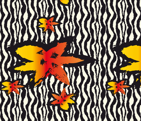 falling_leaves fabric by miss_peach on Spoonflower - custom fabric