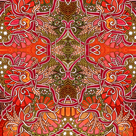 Last of the Red Hot Harvest Festivals fabric by edsel2084 on Spoonflower - custom fabric
