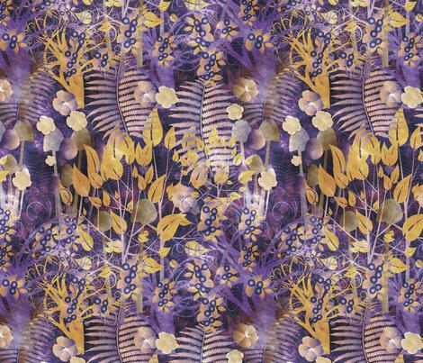 autumnal forest fabric by kociara on Spoonflower - custom fabric