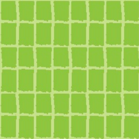 Leaf Green Block Plaid fabric by serendipity_textiles on Spoonflower - custom fabric