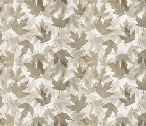 Maple Layers - warm grey fabric by linkolisa on Spoonflower - custom fabric