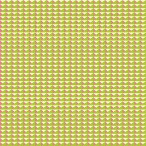 Triangles Green Mauve