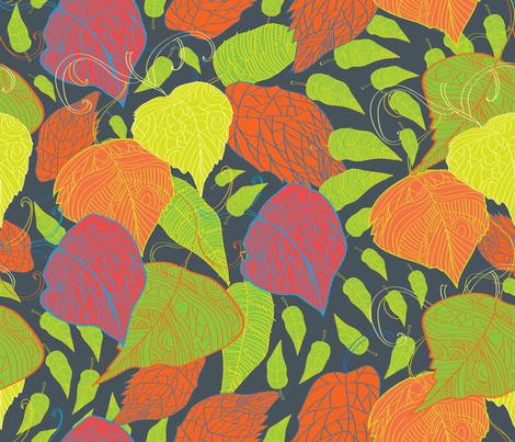 Walking in the Park fabric by milenagaytandzhieva on Spoonflower - custom fabric