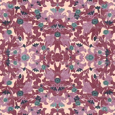 victorian wallpapers antique purple