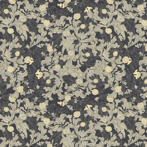victorian wallpaper antique gold