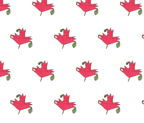 Maple leaf fabric by giathechief on Spoonflower - custom fabric
