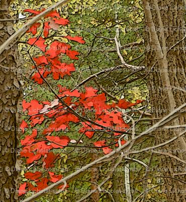 Enchanted Autumn Tangle