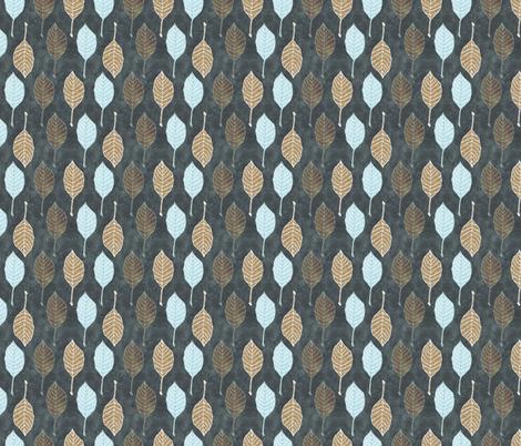 Leaves Fall fabric by cosecreative on Spoonflower - custom fabric