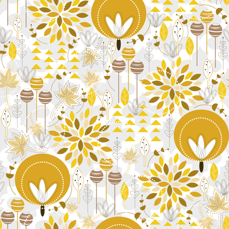 Fallfall fabric by tarabehlers on Spoonflower - custom fabric