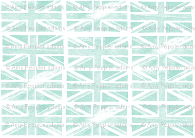 Jubilee Jack (Mint) || Union Jack United Kingdom flag England London royalty Britain British queen patriotic
