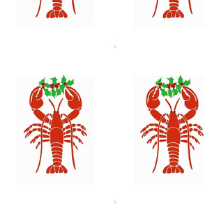 Lobster with Holly