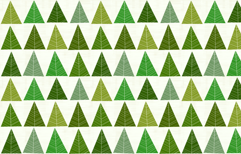 Forest by Friztin fabric by friztin on Spoonflower - custom fabric