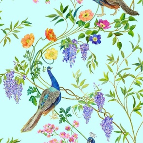Peacock Chinoiserie