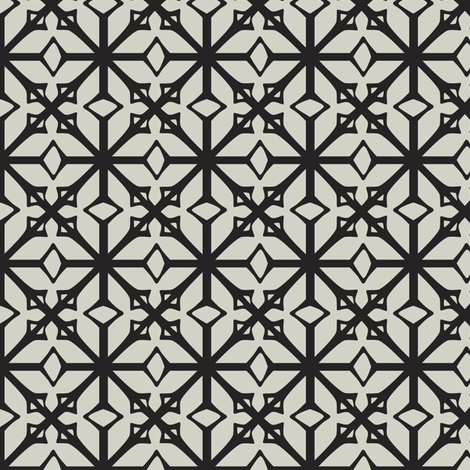 Diamante - Geometric fabric by heatherdutton on Spoonflower - custom fabric