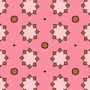 Pinky Brown Pattern