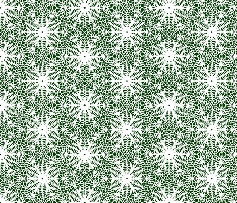 Wrap_paper_crocus_snowflake_white_forest_green_shop_preview