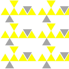Triangles Yellow Grey