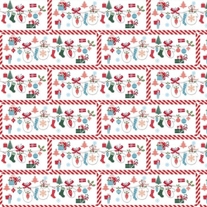 Mittens Holiday Party Candy Cane-Large
