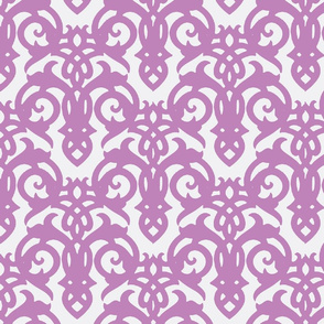 Purple Imperial Damask